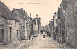 ¤¤  -   SACY    -   Rue Principale    -   ¤¤ - Autres Communes