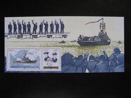 TB B.F.souvenir N° 46:  ..., Porte-hélicoptères Jeanne D'Arc , Sans Encart, Neuf XX. - Blocs Souvenir