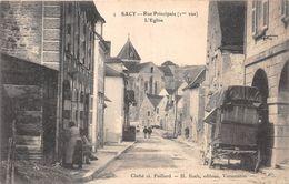 ¤¤  -   SACY    -   Rue Principale   -   L'Eglise   -   ¤¤ - Autres Communes
