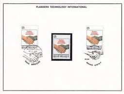 Nr 2243 Gestempeld & 1 Postfris - Postmark Collection