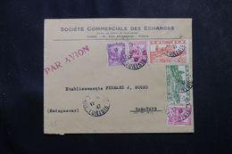 TUNISIE - Enveloppe Commerciale De Tunis En 19147 Pour Madagascar , Affranchissement  Plaisant -  L 63680 - Covers & Documents