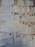 1962/63 -100 Lettres Au Contre-Amiral Jacques GUILLON (1910-1997) - Capitaine De Vaisseau - Chef D'Etat-Major Etc - Historische Documenten