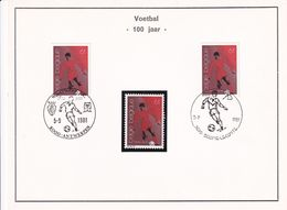 Nr 2014 Gestempeld & 1 Postfris - Postmark Collection