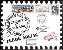 2001 T.A.A.F., Libretto Prestige  Carnet De Voyage, Serie Completa Nuova (**) - Carnets