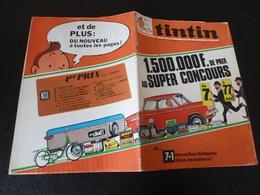 JOURNAL TINTIN N°7 1969 JEU CONCOURS BMW - Tintin