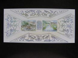 TB B.F.souvenir N° 80 : Jardins De France ... , Sans Encart, Neuf XX. - Blocs Souvenir