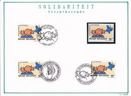 Nr 2580 Gestempeld & 1 Postfris - Postmark Collection