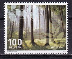 Switzerland 2011 Europa Forests 1v MNH - 2011