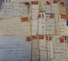 1931/32 20 Lettres à Amédée FRISSARD, Mission Géodésique, Astronomique Du Lieutenant Casanova - Sénégal, Côte D'Ivoire - Documents Historiques
