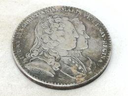 RÉPLICA Medalla. 1730. Luis XV Y María. Languedoc, Francia. Nacimiento Del Delfín, Luis XVI. Rara - 1715-1774 Louis XV Le Bien-Aimé