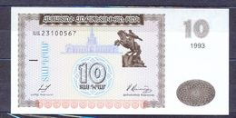 Armenia  - 1993 -  10 Dram .. P33....UNC - Arménie