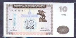 Armenia  - 1993 -  10 Dram .. P33....UNC - Armenien