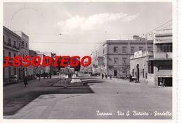 TRAPANI - VIA G. BATTISTA - FARDELLA  F/GRANDE VIAGGIATA 1957 ANIMATA - Trapani