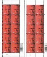 Belg. 2013 - COB N° 4369 ** - Roi Philippe (affranchissement Nationale) Planche 1 & 2 - Belgium