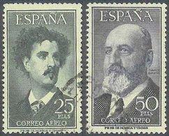 ESPAÑA 1955/56 - Edifil #1164/65 - VFU - Poste Aérienne