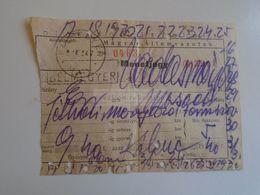ZA282.6 Railway Ticket MÁV Hungary -1958  Bélmegyer - Vadasmajor (Békés)  Half Month - 9.40 HUF - Train Ticket RARE - Chemins De Fer