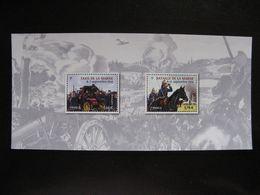 TB B.F.souvenir N° 98 : Centenaire De La Bataille De La Marne , Sans Encart, Neuf XX. - Blocs Souvenir