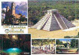 Mexiko - The Yucatan Peninsula -gel. - México