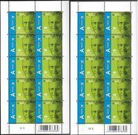 Belg. 2013 - COB N° 4371 ** - Roi Philippe (affranchissement Monde) Planche 1 & 2 - Belgium
