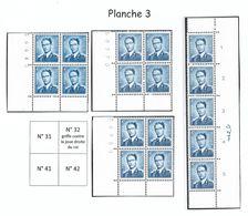 926 Planche 3 - Tirage De 1964/65 (Nic 031) - Nuovi