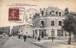 PORNICHET - Avenue De La Gare Prise De La Place Du Marché - Pornichet