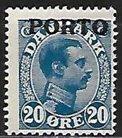 DANEMARK    -   Taxe  /  Porto     -   1921 .   Y&T N° 5 * - Port Dû (Taxe)