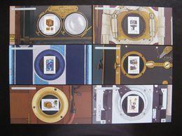 TB Série B.F. Souvenirs N° 101/106 : Les Appareils Photographiques ..., Sans Encart, Neufs XX. - Blocs Souvenir