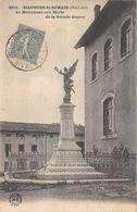SIAUGUES ST ROMAIN - Le Monument Aux Morts De La Grande Guerre - Andere Gemeenten