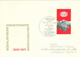 DDR 1667 Auf FDC SSt. Berlin 1085 Mit Markantem Stempelirrtum 12.17.71 - [6] Oost-Duitsland