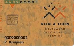 Zorgkaart Proof Rijn&Duin Pays-Bas Health Care - Ausstellungskarten