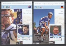 Niger - Set 2 Of 2 MNH Sheets SUMMER OLYMPICS SYDNEY 2000 - Ete 2000: Sydney