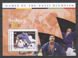 Sao Tome E Principe - MNH Sheet 2 SUMMER OLYMPICS SYDNEY 2000 - JUDO - MARK HUIZINGA - Ete 2000: Sydney