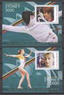 Sao Tome E Principe - Set 1 Of 2 MNH Sheets SUMMER OLYMPICS SYDNEY 2000 - Ete 2000: Sydney