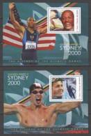 Sao Tome E Principe - Set 2 Of 2 MNH Sheets SUMMER OLYMPICS SYDNEY 2000 - Ete 2000: Sydney