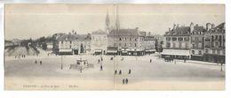 28 - CHARTRES - La Place Des Epars. Carte Grand Format, Double Volet - Chartres