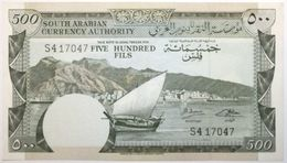 Yémen (Rép. Démocratique) - 500 Fils - 1965 - PICK 2b - SPL - Yemen