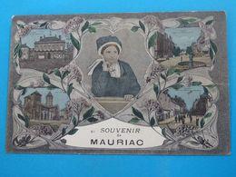 """15 ) Mauriac - N° 61 - Souvenir De Mauriac """" Multivus """" -  Année  - EDIT - - Mauriac"""