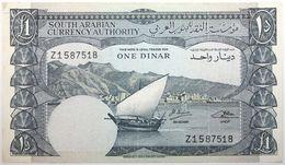 Yémen (Rép. Démocratique) - 1 Dinar - 1965 - PICK 3b - TTB - Yemen