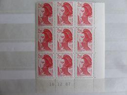 France.coin Daté Du No 2376 Marianne Liberté N**. - Blocs & Feuillets