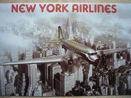 Avion / Airplane / NEW YORK AIRLINES / Douglas DC-3 / Size: 12X18 Cm - 1946-....: Ere Moderne