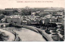 LAROCHE  SEPARATION DE LA VILLE BASSE ET DE LA VILLE HAUTE - Larochette