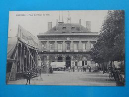 15 ) Mauriac - Place De L'hotel De Ville -  Année  - EDIT - Chastel - Mauriac
