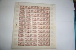 FRANCE 1949 FEUILLE ENTIERE 839  6 EME CENTENAIRE DU RATTACHEMENT DU DAUPHINE COLLEGIALE SAINT BERNARD A ROMANS - Feuilles Complètes