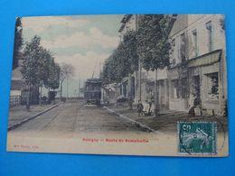 """93 ) Bobigny - Route De Romainville """" Tram """" -  Année 1909 - EDIT - Tardy - Bobigny"""