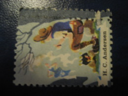 H.C. ANDERSEN Svinedrengen Tales Stories Legends Child Youth Literature Poster Stamp Vignette DENMARK Label - Fairy Tales, Popular Stories & Legends