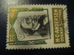 H.C. ANDERSEN 1930 Odense Tales Stories Legends Child Youth Literature Poster Stamp Vignette DENMARK Label - Fairy Tales, Popular Stories & Legends
