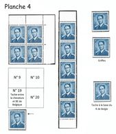 926 Planche 4 - Tirage De 1964/65 (Nic 032) - Nuovi