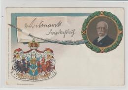 DR Privatganzsache PP 9: Bismarck (mit Schreibfeder) - Germany