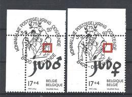 Nr 2703-04 Eerste Dag Afstempeling - Belgique