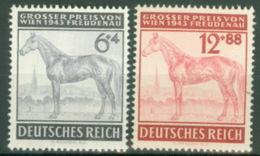 Deutsches Reich 857/58 ** Postfrisch - Germania